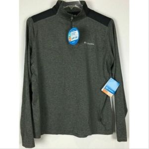 COLUMBIA Men's 1/4 Zip Pullover Omni Shade Wick